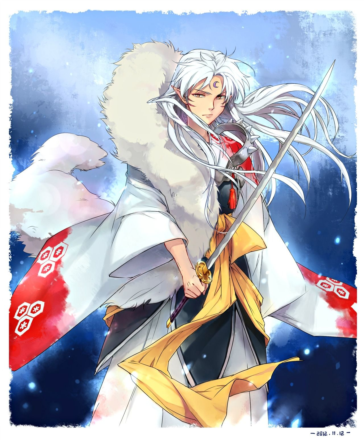 Anime Characters Named Rin : Lord sesshoumaru from inuyasha