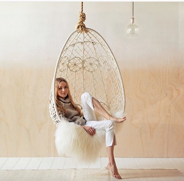 The gypsy hanging chair september hanging chair - Indoor hanging egg chair for bedroom ...
