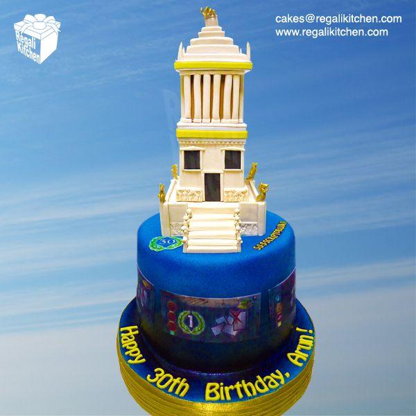 7 Wonders Board Game Cake Halikarnassos B Cake Halicarnassus