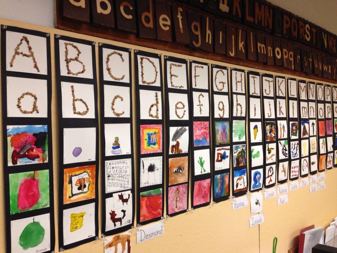 Kindergarten Alphabet