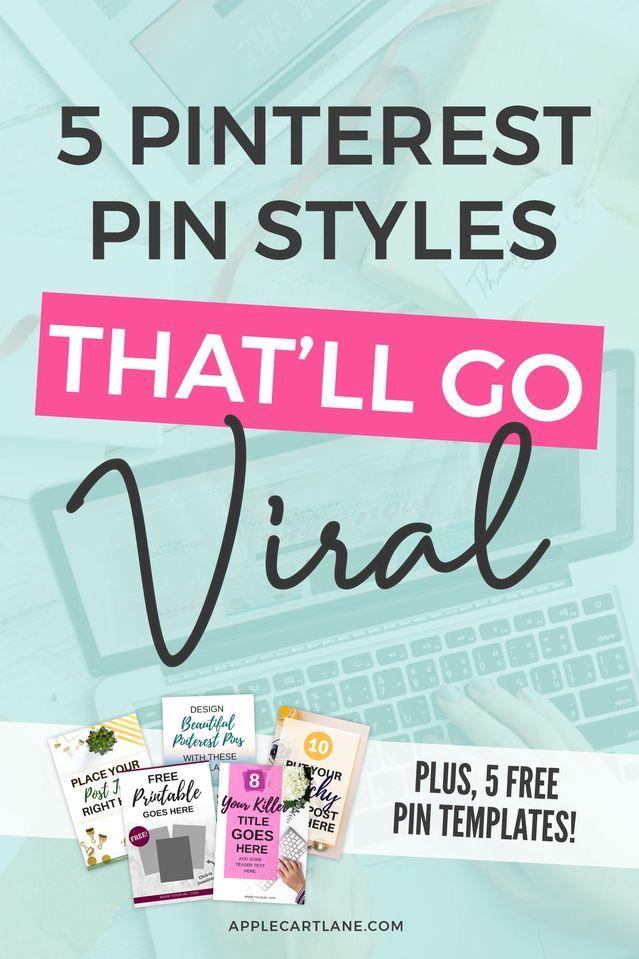 5 Fail Proof Pinterest Pin Styles for High Converting Pins – Applecart Lane