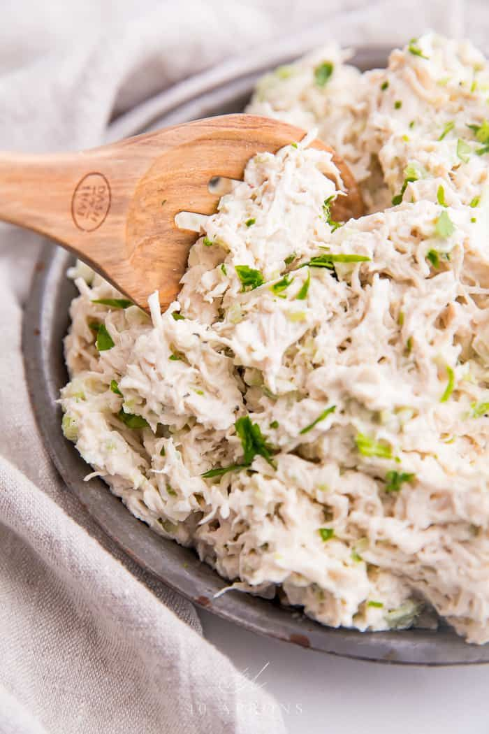 Shredded Chicken Salad (Costco Style)