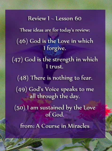 A Course In Miracles Lesson 60 Acim Https Www Facebook Com