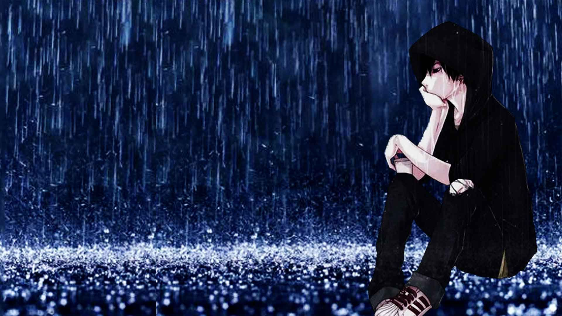 Sad anime boy images sad cartoon boy alone pic sadever