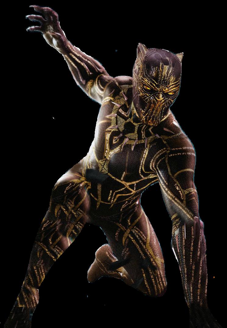 Mcu Black Panther Killmonger Golden Jaguar Png By Davidbksandrade Black Panther Marvel Black Panther Art Black Panther