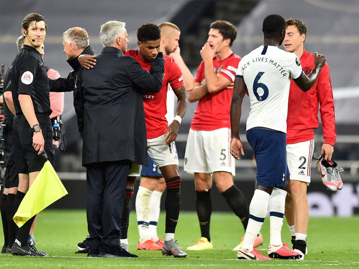 Penalty drama denies Man United in draw at Tottenham in
