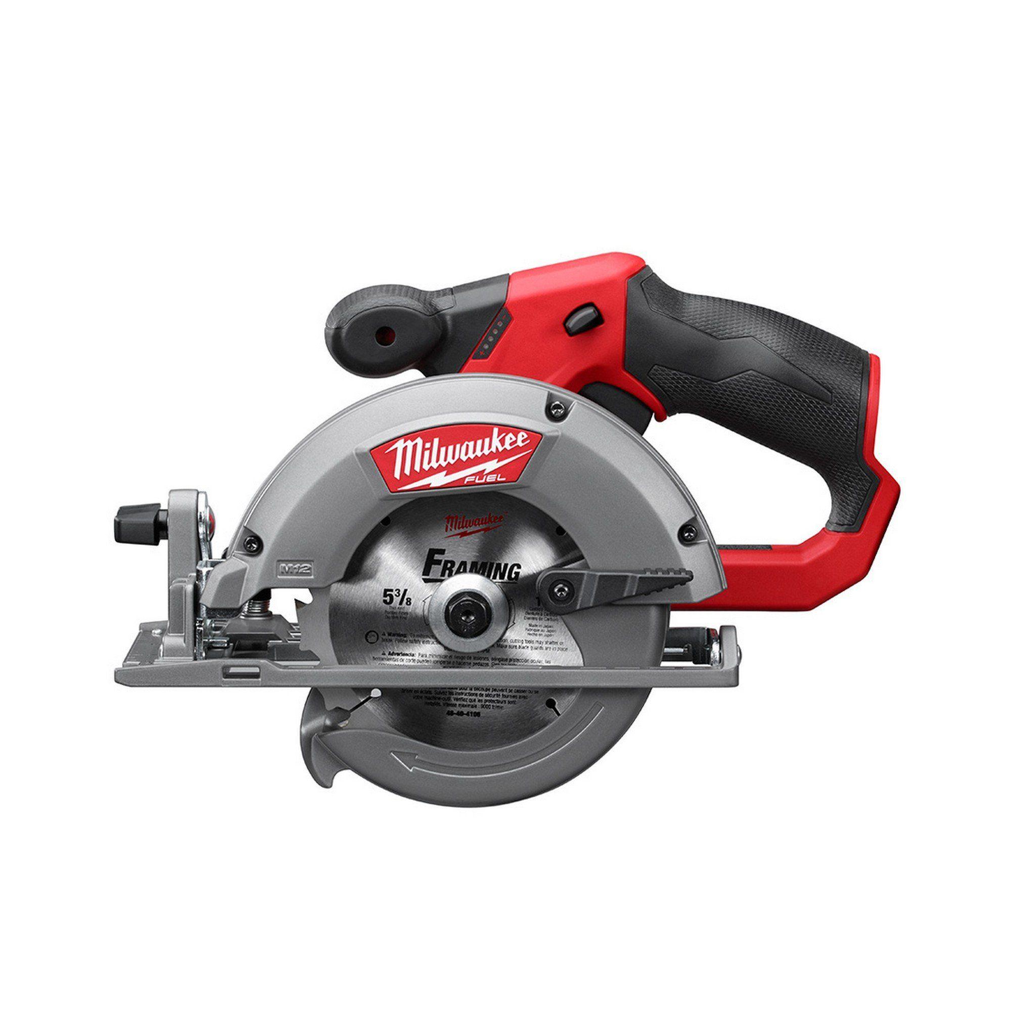 2530 20 Milwaukee M12 Fuel 5 3 8 Circular Saw Tool Only Cordless Circular Saw Milwaukee Circular Saw Best Circular Saw