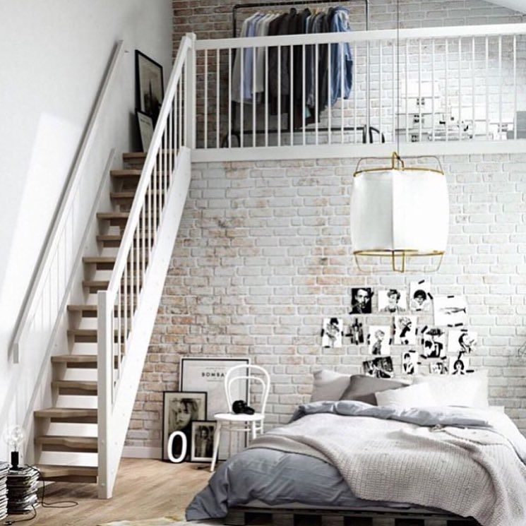 Explore Industrial Loft Bedroom Inspo and more