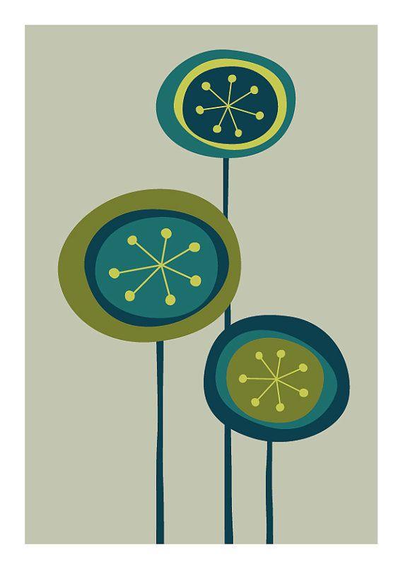 Pin By Www Sandkuhler Com On 꽃그림 In 2020 Etsy Wall Art Scandinavian Wall Art Flower Prints Art