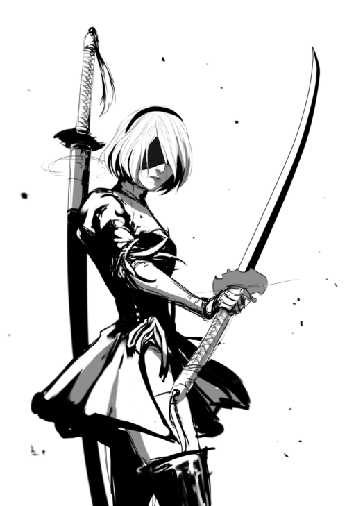 Played Nier Automata Demo And Very Much Looking Forward To This Game Even More Nier Automata Automata Neir Automata