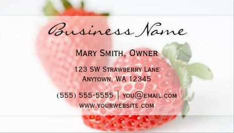 Elegant fresh red strawberries on white nutrition and wellness elegant fresh red strawberries on white nutrition and wellness business cards httpwww reheart Image collections