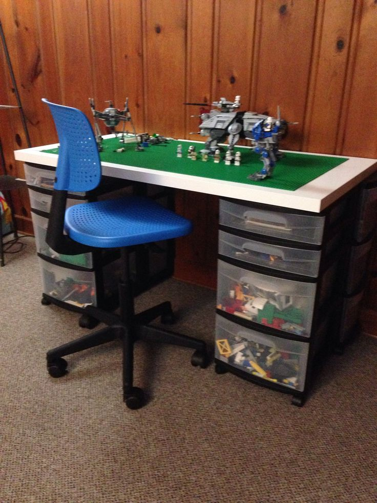 Diy Lego Table And Desk Google Search Lego Room Lego
