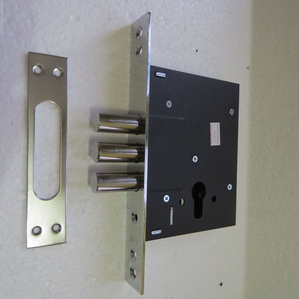 High Security Door Lock Case Mortise Lock For Cylinder Deadbolt