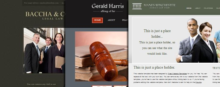 35 Free Law Firm Website Templates   UI and Web designs ...