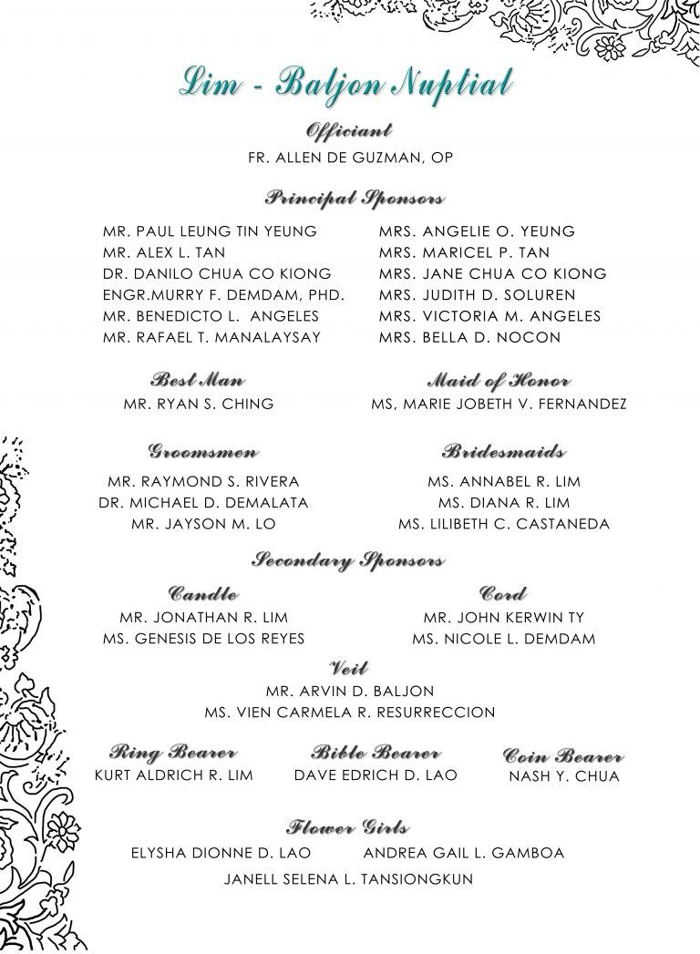 Sample Wedding Invitation List Entourage New Sample Invitation for
