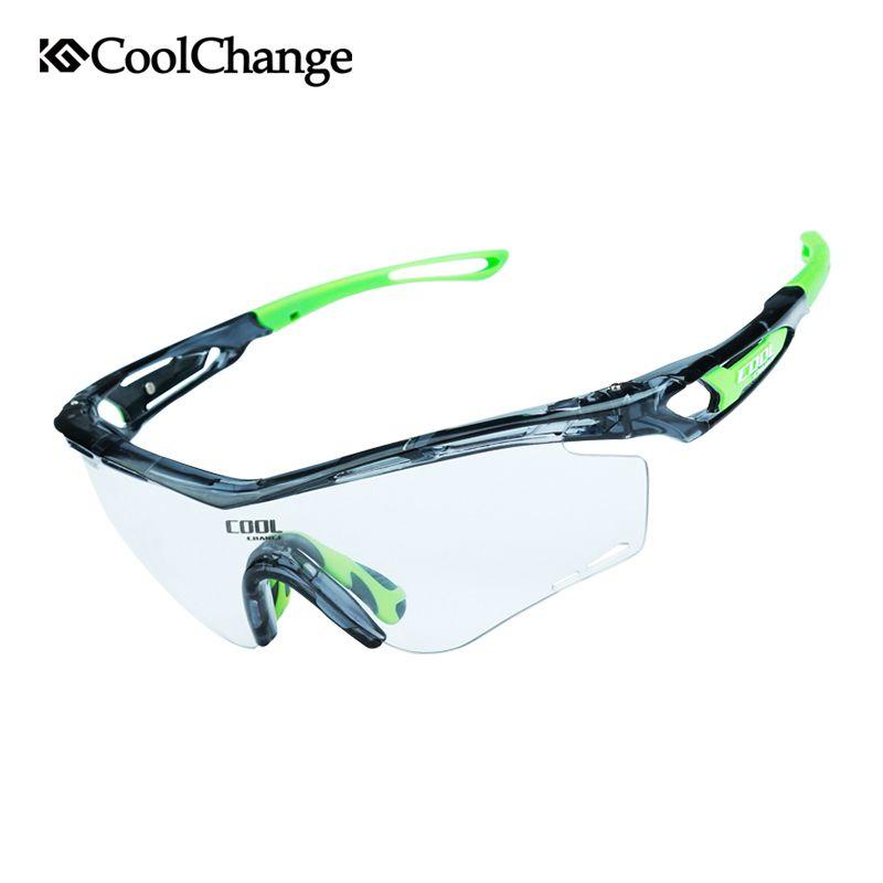 Kaufen CoolChange Photochrome Polarisierte Radsportbrille Bike ...