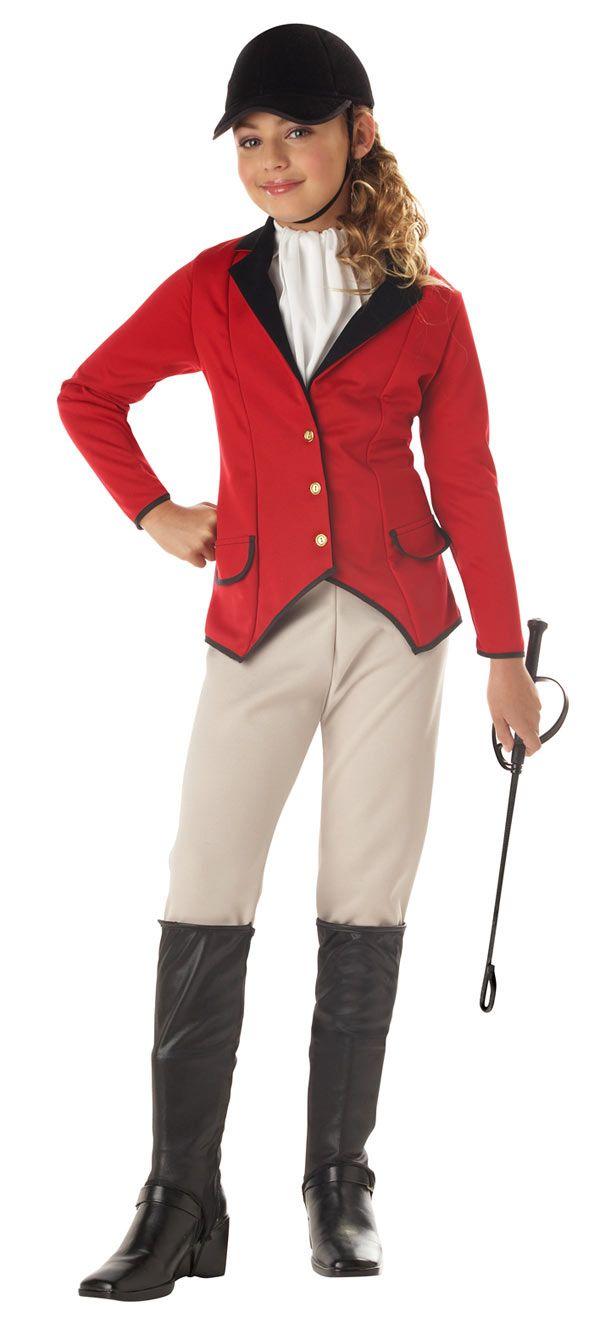 Sexy equestrian costume