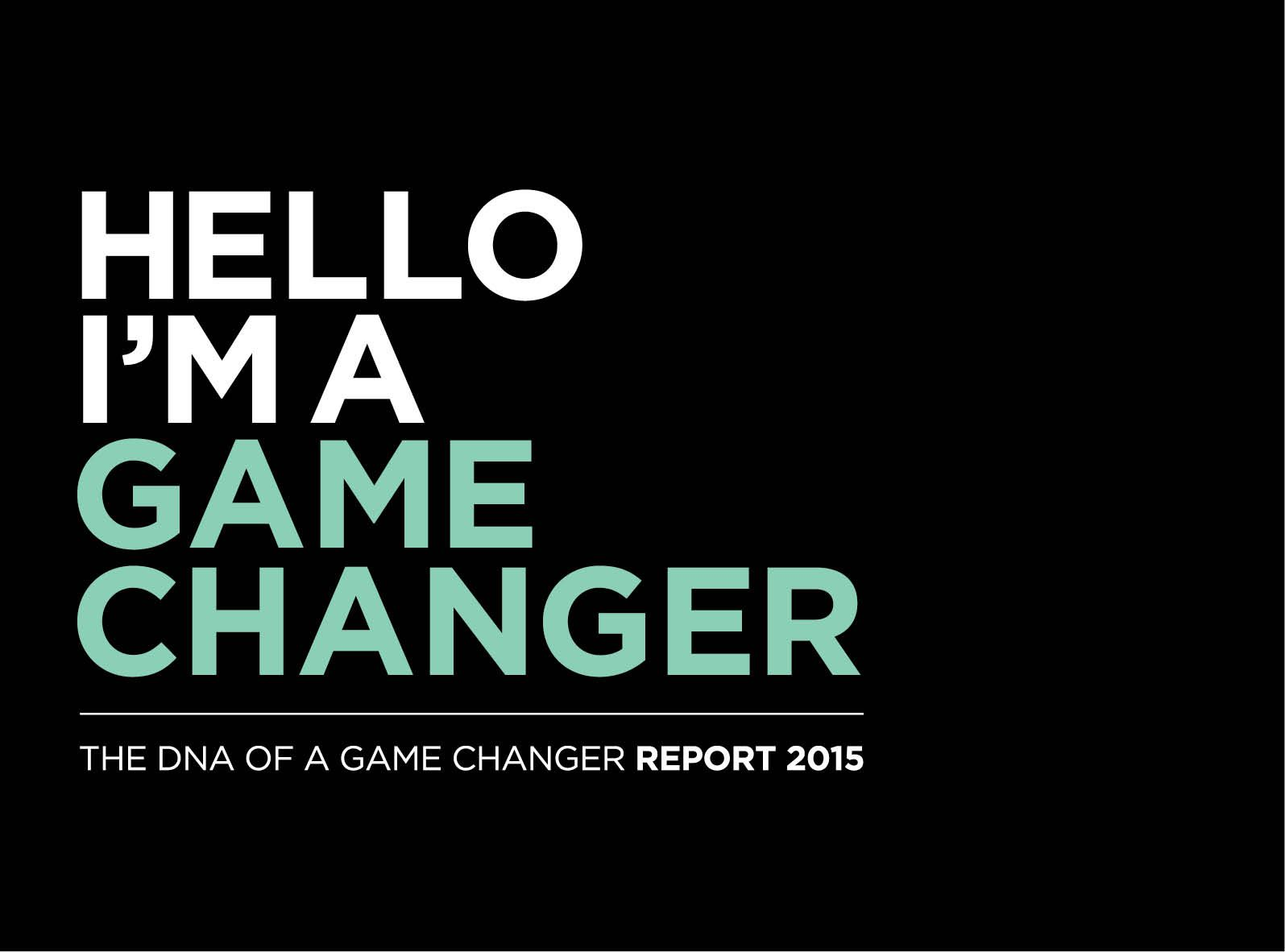 Eg 1 Elevating Organisations Through Game Changing Talent And Insight Game Changer Games Insight