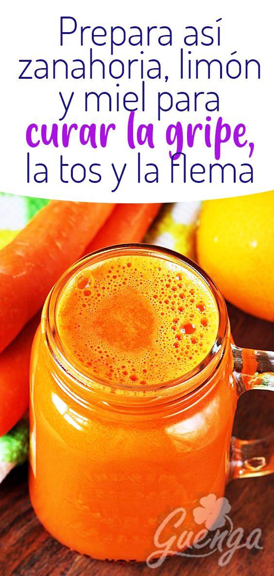 Prepara Asi Zanahoria Limon Y Miel Para Curar La Gripe La Tos Y La Flema Healthy Recipes Food Healthy Agregar el jugo de limón y mezclar con la miel y las zanahorias. curar la gripe la tos y la flema
