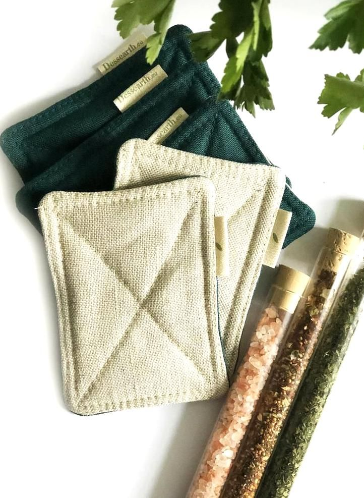 Reusable zero waste sponge unsponge for your zero waste