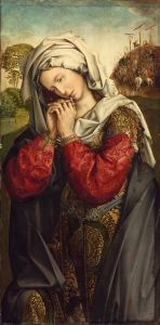 The Mourning Mary Magdalene - Colijn de Coter - The Athenaeum