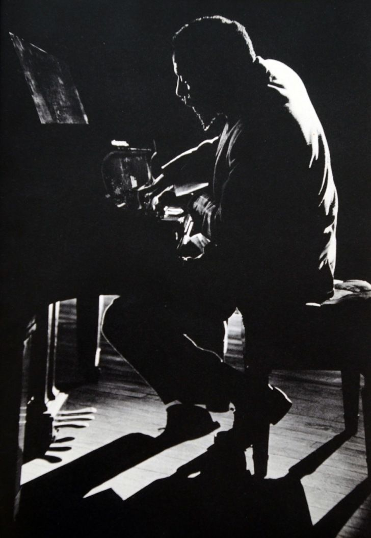 Dennis Stock/Thelonious Monk in performance at Town Hall, New York