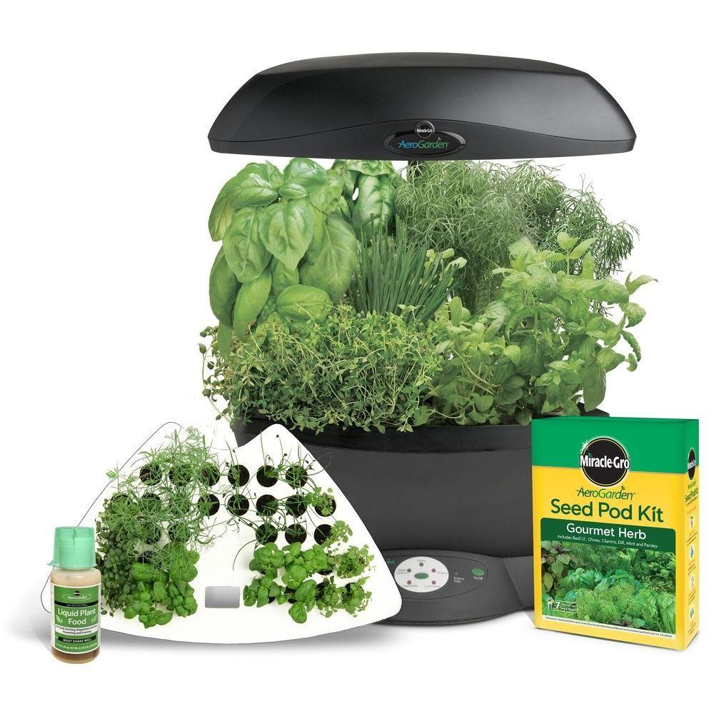 MiracleGro AeroGarden 6 Indoor Garden with Gourmet Herb Seed Pod