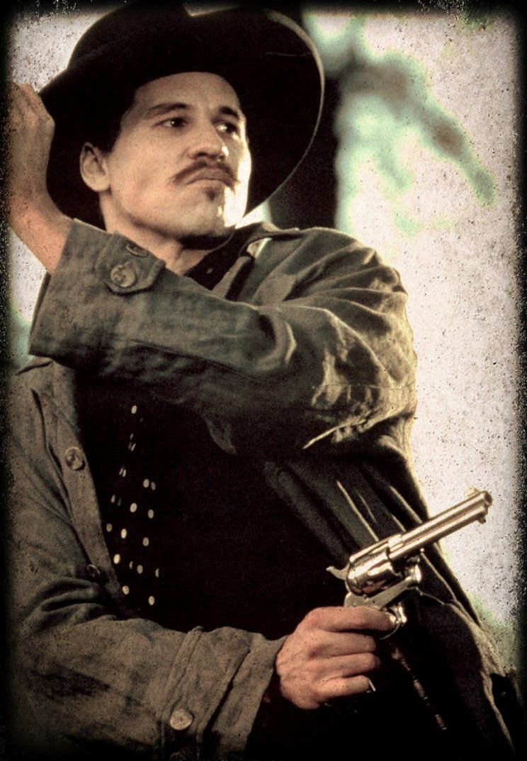 Val Kilmer Aka Doc Holliday Val Kilmer Tombstone Movie Ill Be