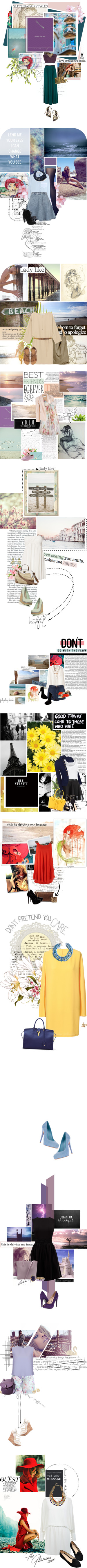 """Disney Inspired - The Little Mermaid"" by this-is-tori ❤ liked on Polyvore"