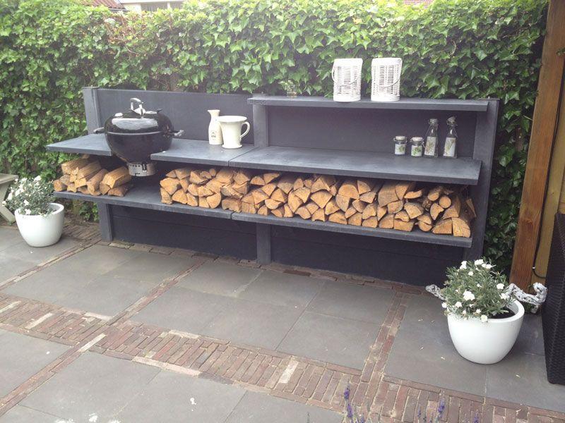 Buiten koken Extérieur, Maisons extérieures et Terrasses