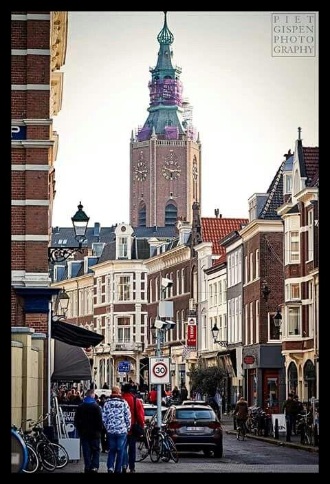 De ingang van de Prinsestraat, foto Piet Gispen.