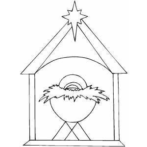 image result for nativity scene characters coloring november work