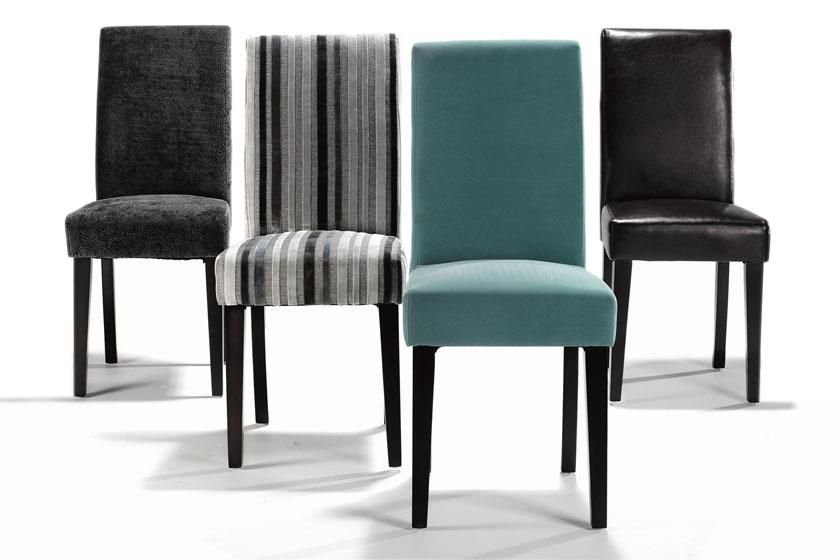 Fabric Parsons Dining Chairs