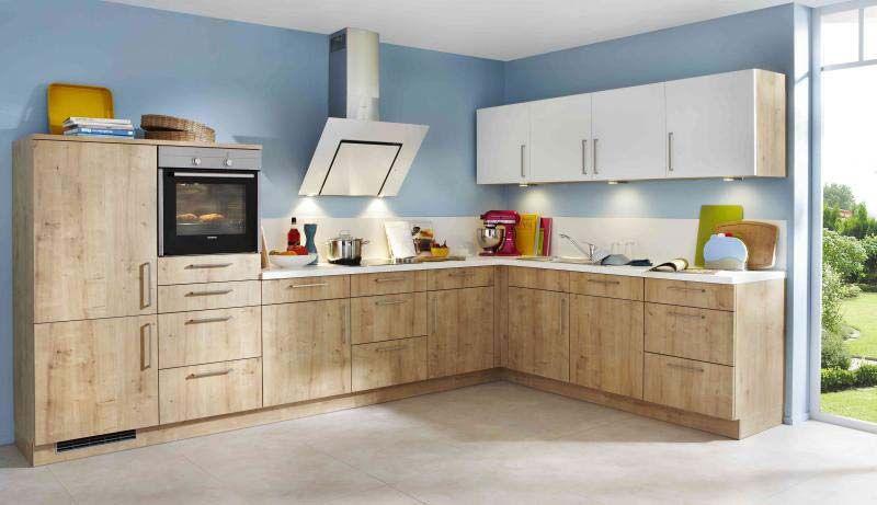 Einbauküche nolte manhattan  L-Küche Manhattan nolte Onella inkl. E-Geräte 365 x 245 cm | Wohnen ...
