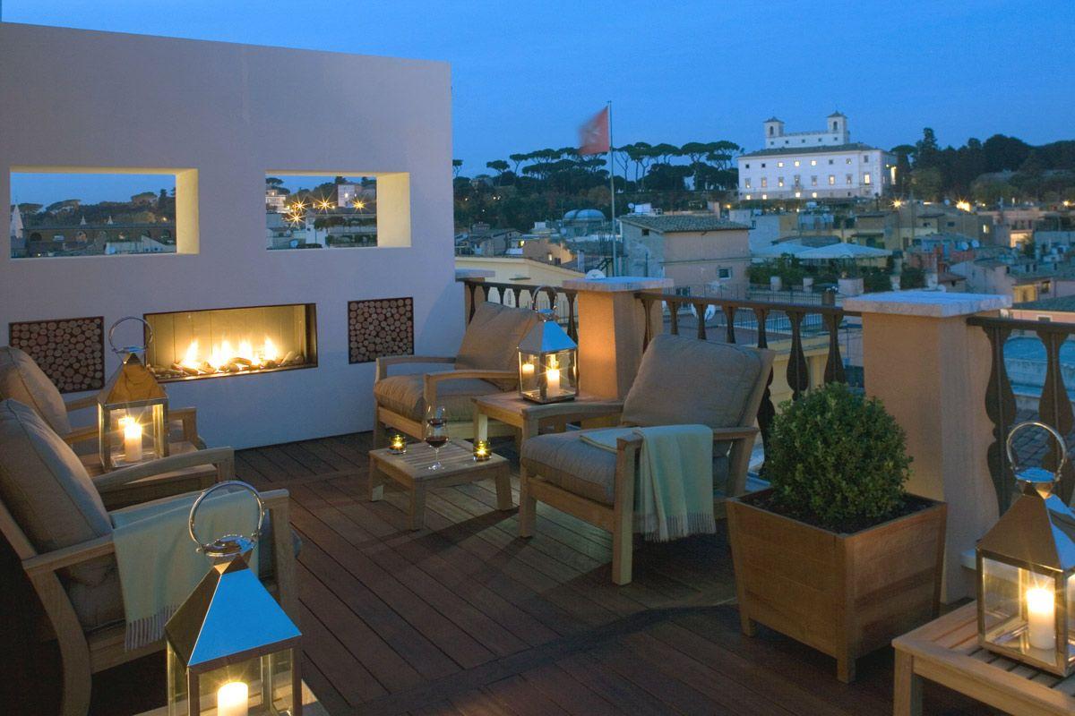 Portrait Roma Luxury Hotel In Rome Near The Spanish Steps Travel