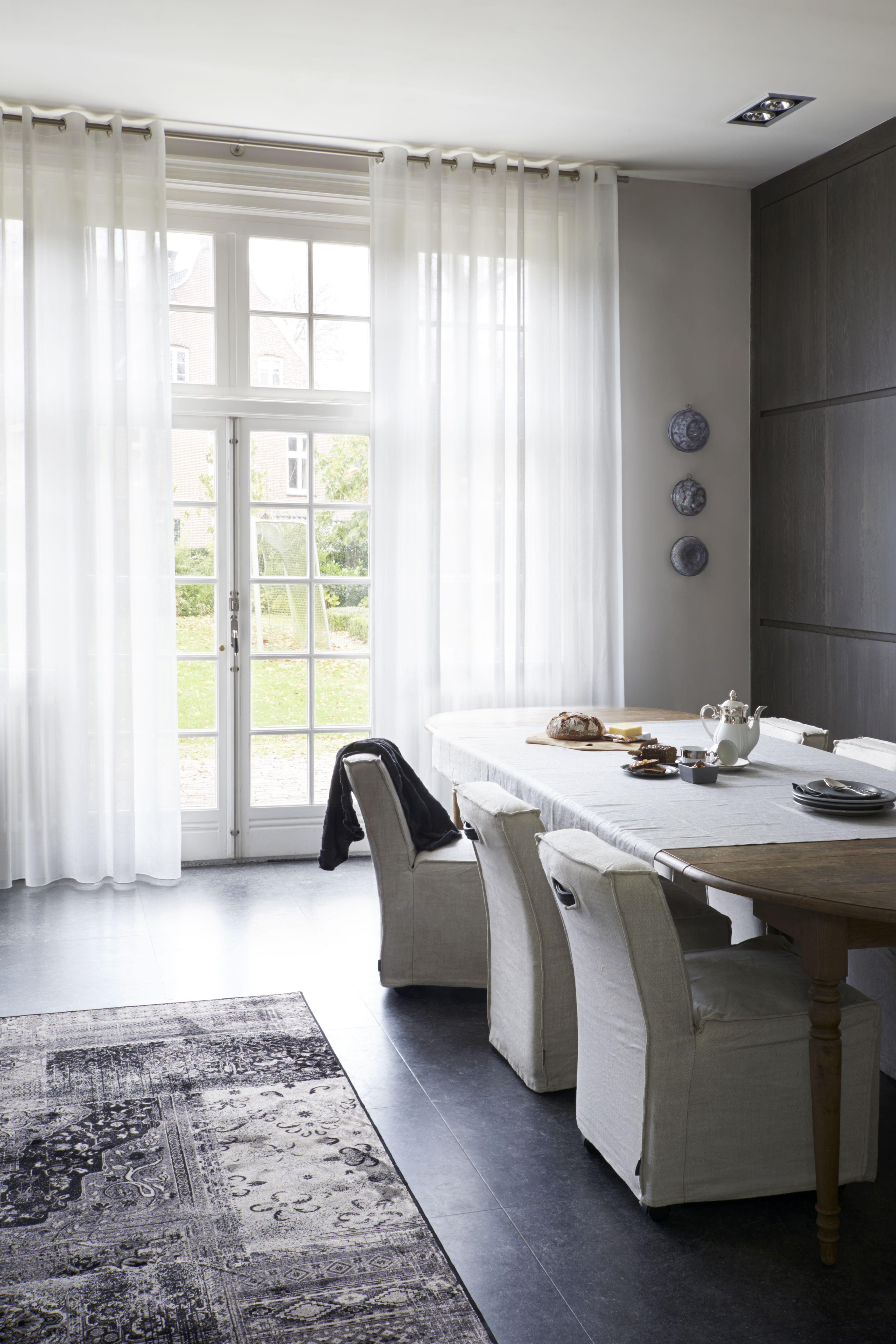 Inspiratie Gordijnen Woonkamer : Gordijnen woonkamer in between inbetween gordijnen en vitrages