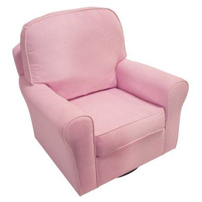 Swivel Glider Chair - Pink.Opens in a new window   For the ...