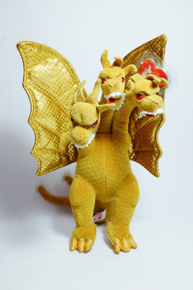 TY Classic Plush - King Ghidorah with tag. Godzilla ( Japan Exclusive ) 7a9562b62d09