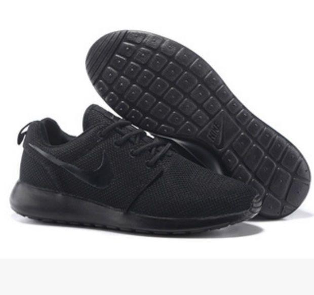 NIKE Women Men Running Sport Casual Shoes Sneakers Pure Black