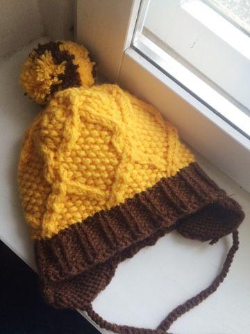 Зимняя детская шапка спицами схема фото 836