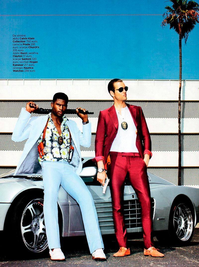 Miami vice dress style