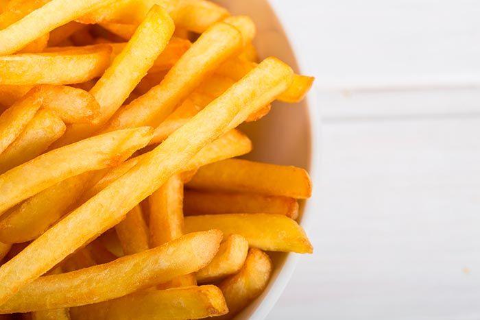 Cómo hacer patatas fritas perfectas, paso a paso