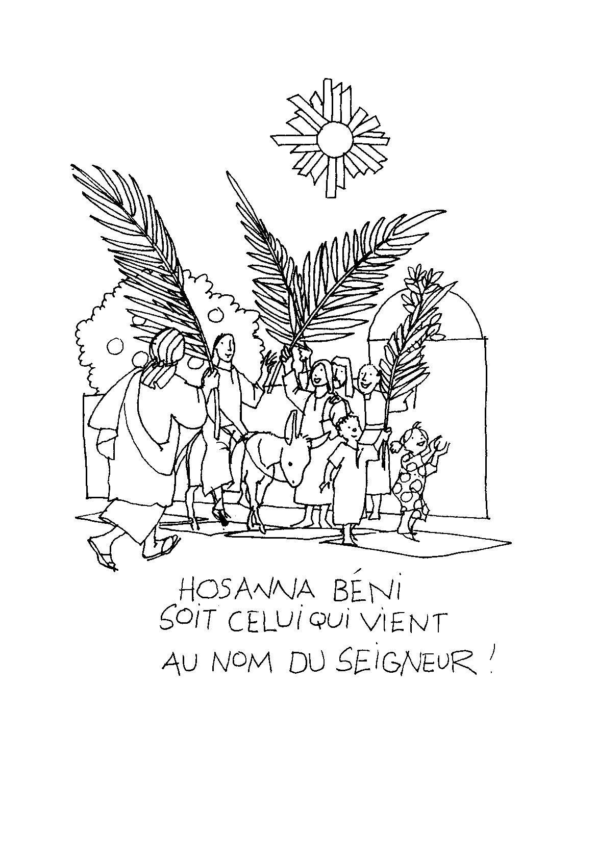 Olivier H ron Dimanche rameaux