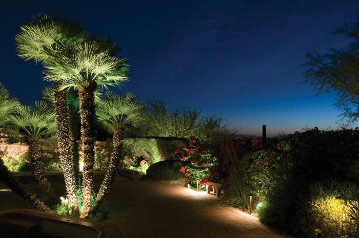 Gartenbeleuchtung-23 Ideen und Impulse für ein romantisches Ambiente ...