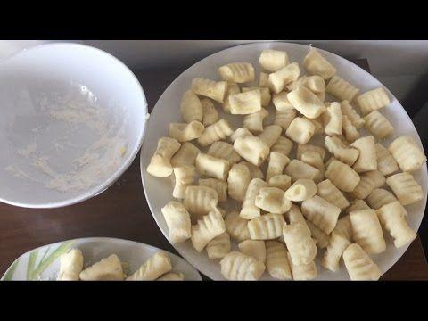 Ricetta:Gnocchi Di Patate Senza Glutine - YouTube