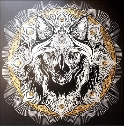 chris_saunders_mandalas4 Vector art, Tattoos, Animal art