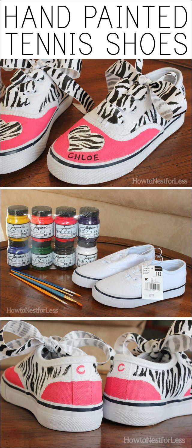fd7b3b59c54f9 Hand Painted Kids Tennis Shoes | Custom made shoes! | Shoes, Shoe ...