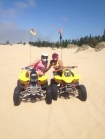 Riley's Ranch near Coos Bay OR. Dune riding :)