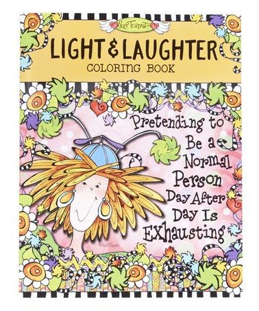 Epic Publishing A Coloring Book 54 This Light u Laughter