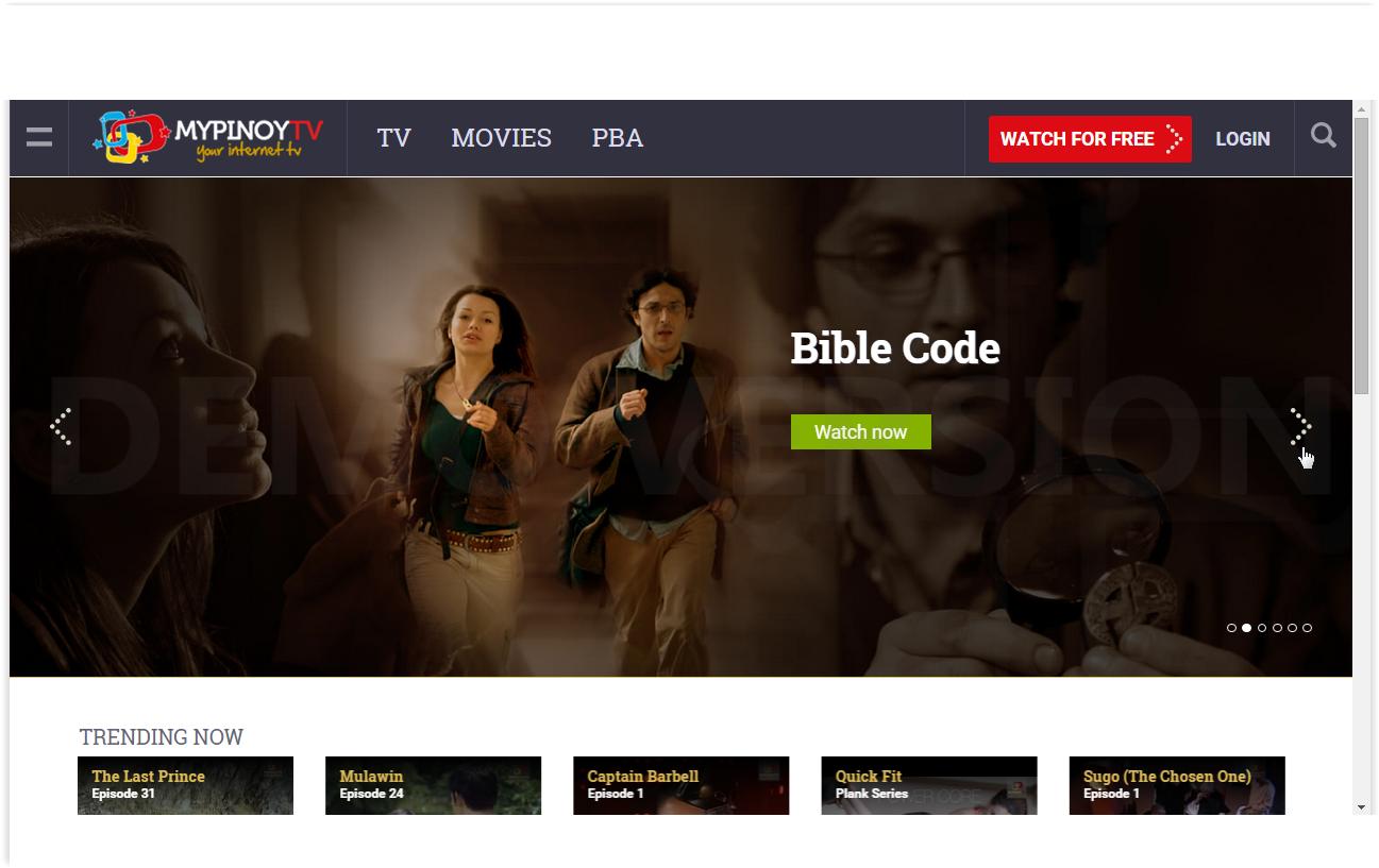 filipino websites for watching filipino show